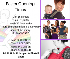 CLOSED FOR EASTER HOLIDAY