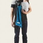 JPMB - Ring sling mottled grey pigeon blue