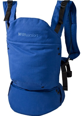 moby comfort blue front