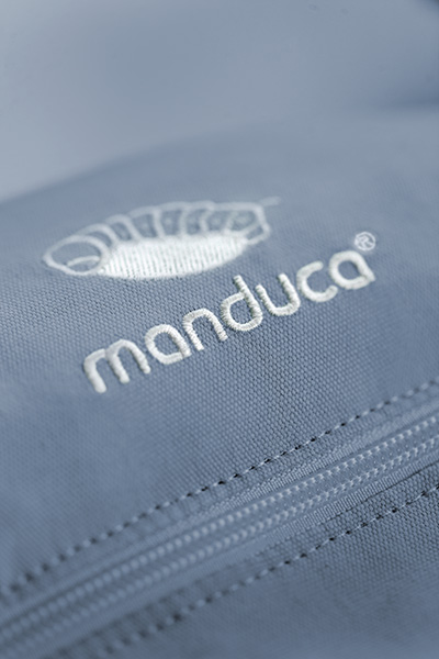 Manduca First Sky Blue Logo