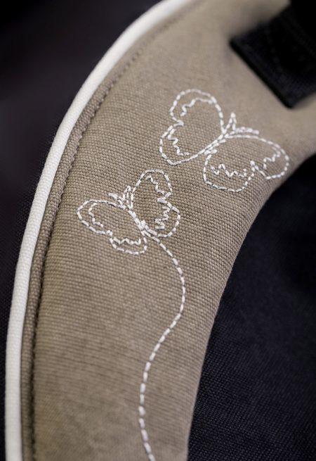 Manduca XT Butterfly Black Detail