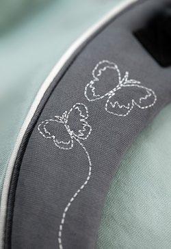 Manduca XT Butterfly Mint Detail