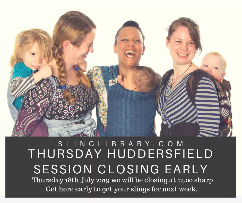 **Huddersfield Closing at 12pm**