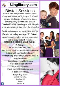 Birstall 4th Trimester Workshop @ Daisy's Play Centre | England | United Kingdom